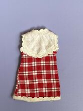 Doll red check dress