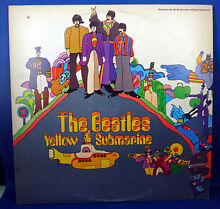 The yellow submarine 1969 lp canada