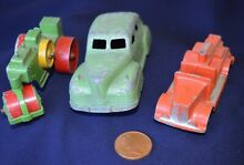 Three early die cast models one by