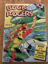 1940 43 4 comic book great color