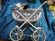 Vinyl doll carriage bonnet from the