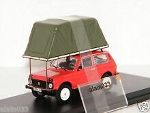 Whith roof tent 1981 red istmodels