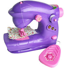 Electric sewing machine toy girls