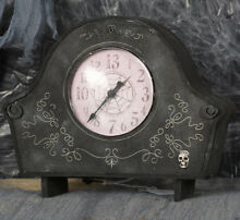 Haunted clock prop light and sound