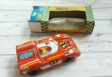 French tinplate friction red racing