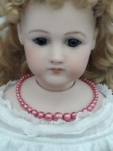 Bisque jumeau doll jewellery 1940 s