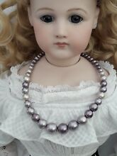 Bisque jumeau doll jewellery lilac