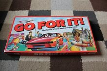 Parker go for it board game 1985