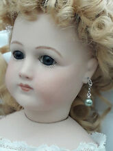 Bisque jumeau doll jewellery pale