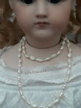 Bisque jumeau doll jewellery real