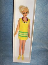 1965 doll dressed by mattel white