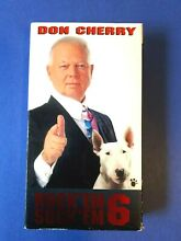 Don cherry 6 vhs 1994 hockey canada