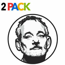 Bill vinyl decal 2 pack