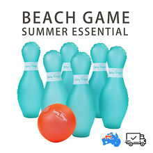 Inflatable bowling set 7pcs outdoor