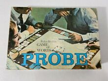 Game of words parker brothers board