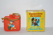 Walt disney serie musical box