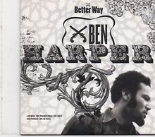 Ben better way promo cd single