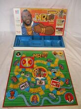 Mr t board game 1983 mb games retro