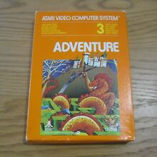 Adventure atari 2600 video game