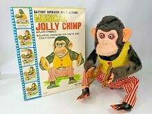 Early japan musical jolly chimp w