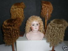 Wig mohair for doll t7 28 5cm