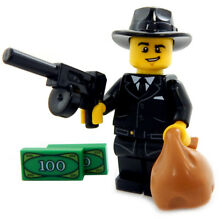 New lego classic mobster minifig
