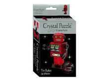 3d tin crystal puzzle