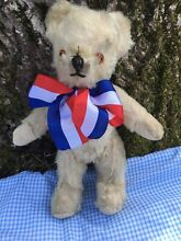 White teddy 1940 50 12 inches high