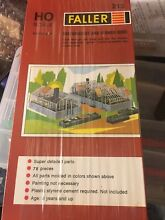 Ho scale greenhouse and flower beds