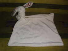 Little lovey security blanket bunny