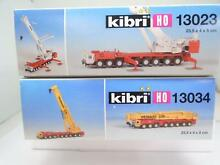 Ho crane kits 2 partially built as