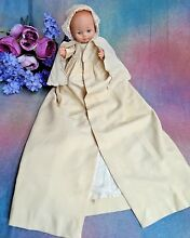 Doll clothes long wool coat for bye