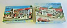 2 esso stations ho scale mib sealed