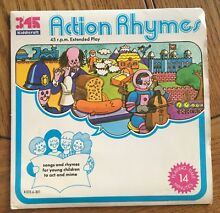 Action rhymes uk 1972 7 e p records