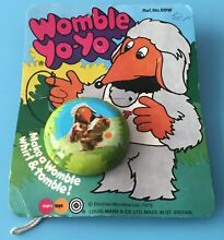 Wombles metal yo yo 1973 on