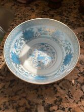 8 asian bowl 7946 sky blue and gold