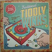 Traditional tiddly winks family