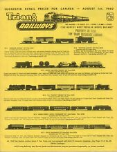 Catalogo tri ang railways 1960 ho