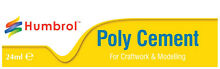24ml poly cement humbrol glue large