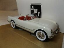 Promo model 1953 chevy corvette