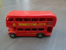 Tri ang routemaster red bus london