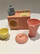 Dollhouse furniture lot washer