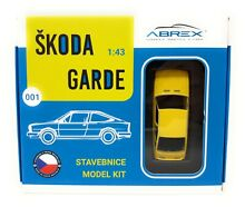 1 43 skoda garde 1982 yellow metal