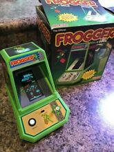 Frogger tabletop arcade game all