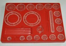 Playset 401 toy 1969 red tray 19