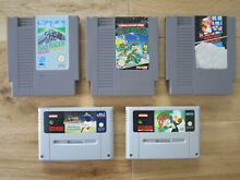 Lot jeux super nintendo