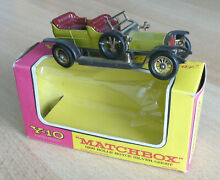 Matchbox y 10 models of yesteryear