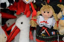 French traditional costume doll