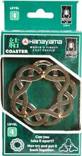 Coaster hanayama cast metal brain