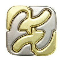 Hanayama cast metal puzzle square